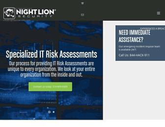 nightlionsecurity.com screenshot