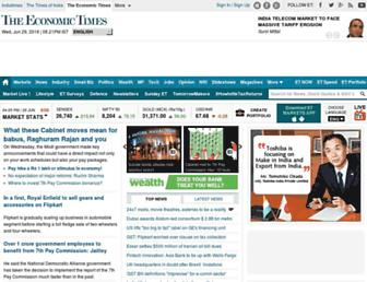 economictimes.indiatimes.com screenshot