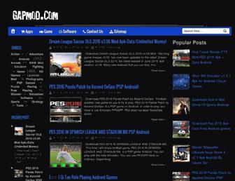 gapmod.com screenshot