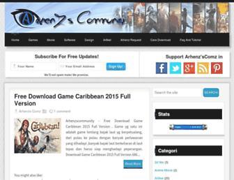 arhenzscommunity.blogspot.com screenshot