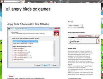 angry-birds-pc-games.blogspot.com screenshot