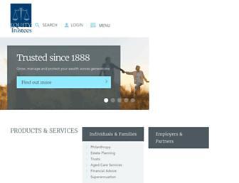 eqt.com.au screenshot