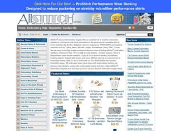 allstitch.net screenshot
