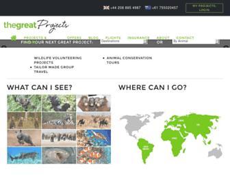 thegreatprojects.com screenshot