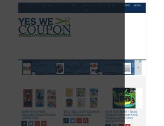 Thumbshot of Yeswecoupon.com