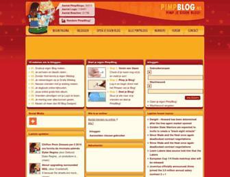 pimpblog.nl screenshot