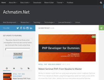 achmatim.net screenshot