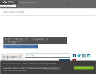au.dk screenshot