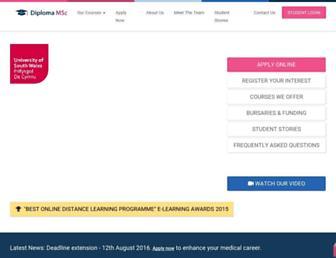 diploma-msc.com screenshot