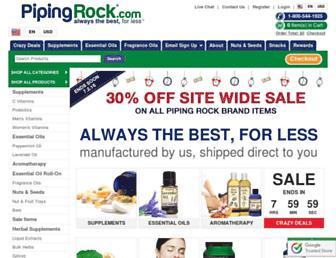 Thumbshot of Pipingrock.com