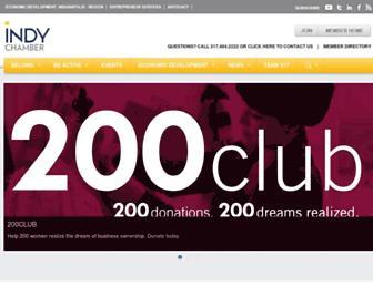 indychamber.com screenshot