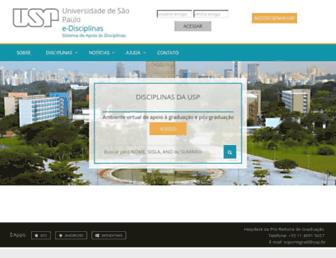 edisciplinas.usp.br screenshot