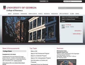 rx.uga.edu screenshot