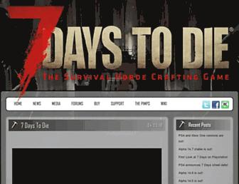 Thumbshot of 7daystodie.com