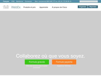Thumbshot of Webex.fr