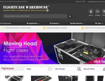flightcasewarehouse.co.uk screenshot