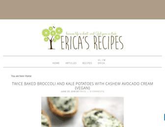 Thumbshot of Ericasrecipes.com