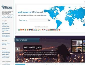 wikitravel.org screenshot