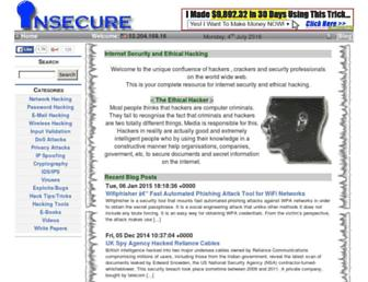 insecure.in screenshot