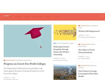 Main page screenshot of tcf.org
