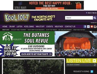 kool1017.com screenshot