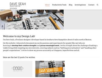davidseah.com screenshot