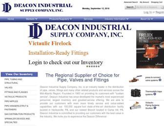 deaconind.com screenshot
