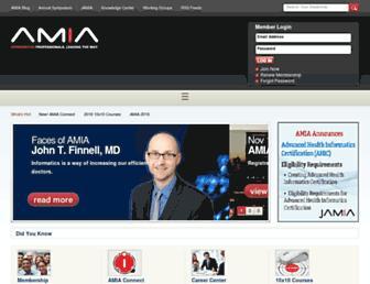 Fullscreen thumbnail of amia.org