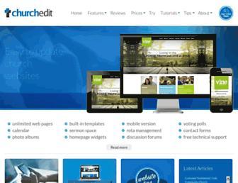 churchedit.co.uk screenshot