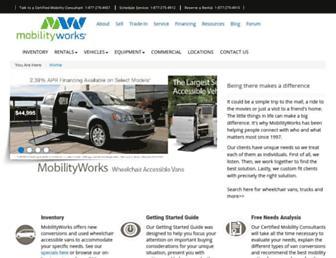mobilityworks.com screenshot