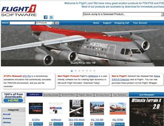 flight1.com screenshot
