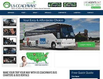 uscoachways.com screenshot