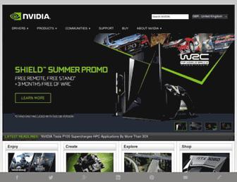 Thumbshot of Nvidia.co.uk