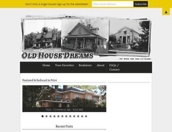 Thumbshot of Oldhousedreams.com