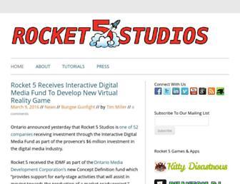 rocket5studios.com screenshot