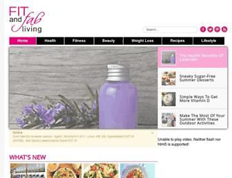 Thumbshot of Fitandfabliving.com