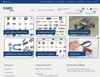 cars-info.eu screenshot