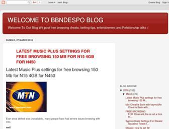 bbndespo.blogspot.com screenshot
