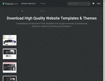 themehunt.com screenshot