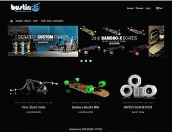 bustinboards.com screenshot