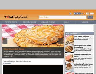 Thumbshot of Totalrecipesearch.com