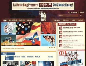 lamusicblog.com screenshot