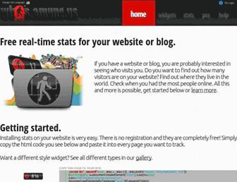 Main page screenshot of amung.us