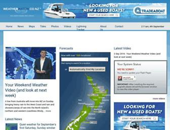 Thumbshot of Weatherwatch.co.nz