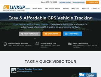 linxup.com screenshot