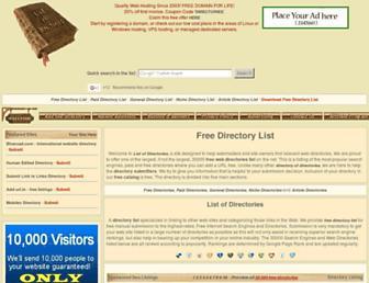 Thumbshot of List-directories.com