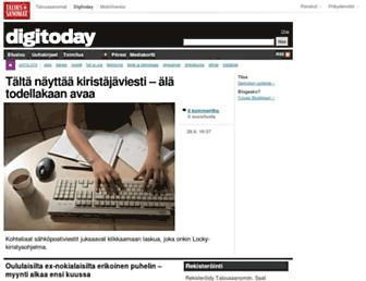 Thumbshot of Digitoday.fi