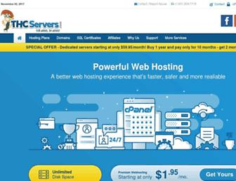 thcservers.com screenshot