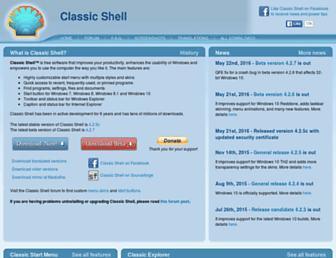 classicshell.net screenshot