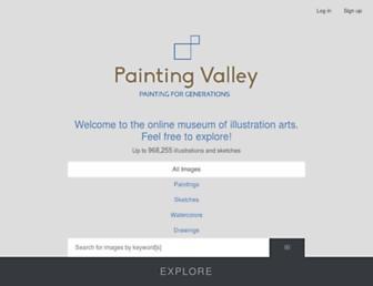 paintingvalley.com screenshot